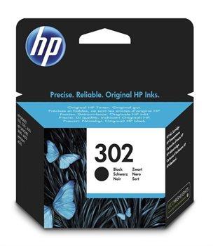 HP 302 original Tinte schwarz - F6U66AE
