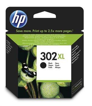 HP 302XL original HC Tinte schwarz - F6U68AE