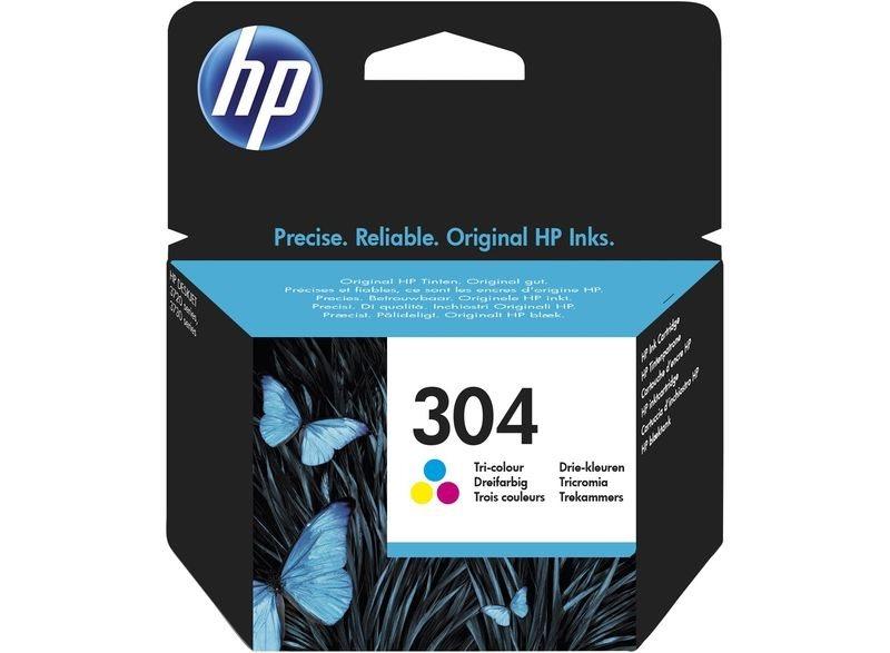 HP 304 original Tinte cyan, magenta, gelb - N9K05AE
