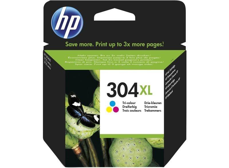 HP 304XL original Xl Tinte cyan, magenta, gelb - N9K07AE