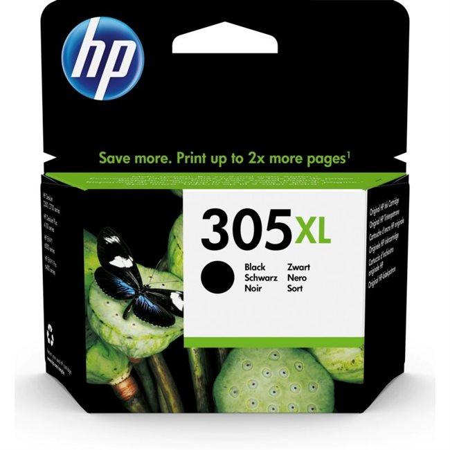 HP 305XL Original HC Tinte schwarz - 3YM62AE