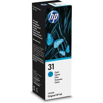 HP 31 Original Tintenflasche cyan - 1VU26AE