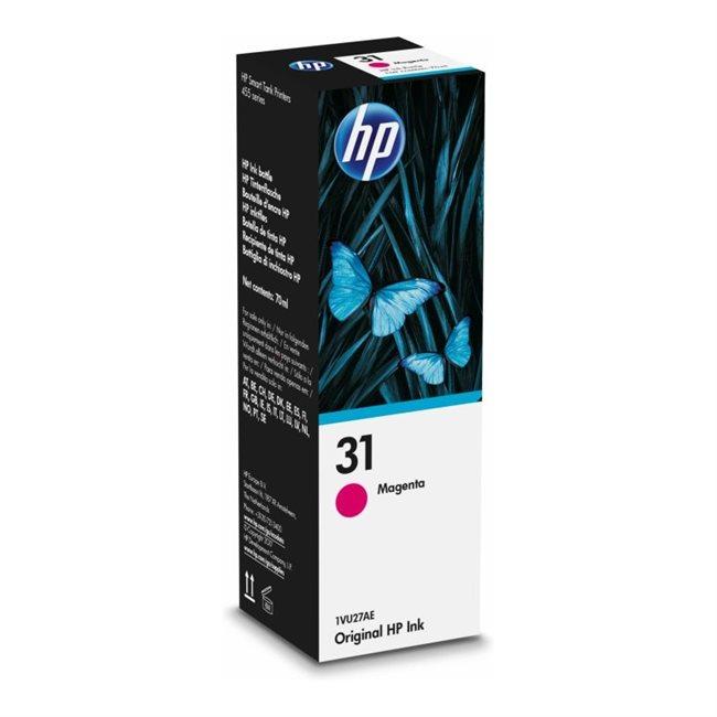HP 31 Original Tintenflasche magenta - 1VU27AE