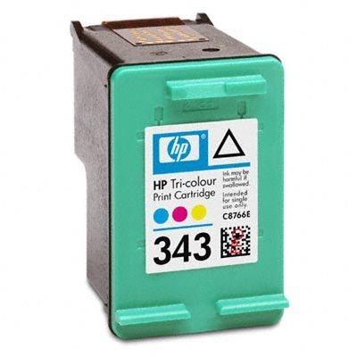 HP 343 original Tinte cyan, magenta, gelb - C8766EE
