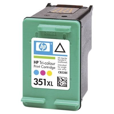 HP 351XL original HC Tinte cyan, magenta, gelb - CB338EE