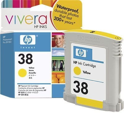 HP 38 original Tinte gelb - C9417A