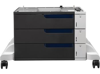 HP 3x500-Blatt Papiereinzug und Ständer