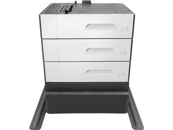 HP 3x500 Blatt Papierzuführung und Unterstand