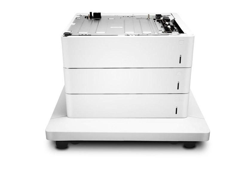 HP 3x550 Blatt Papierzuführung und Unterstand
