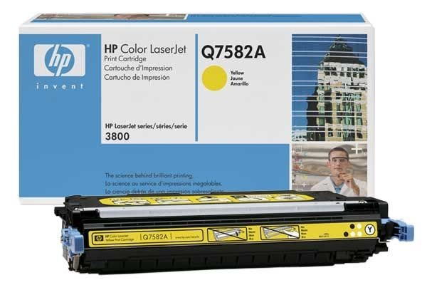 HP 503A original Toner gelb - Q7582A