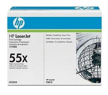 HP 55X original HC Toner schwarz - CE255X