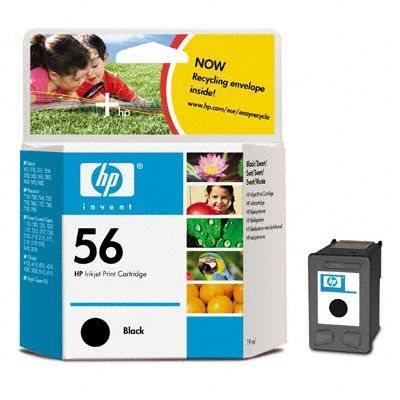 HP 56 original Tinte schwarz - C6656AE