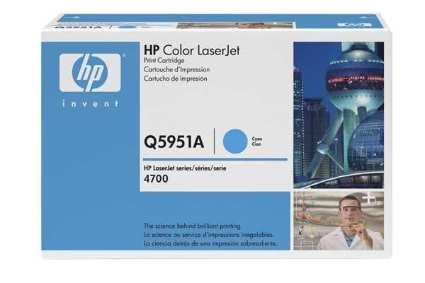 HP 643A original Toner cyan - Q5951A