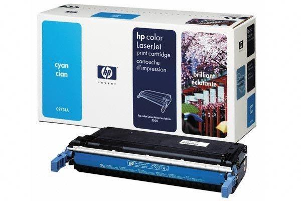 HP 645A original Toner cyan - C9731A