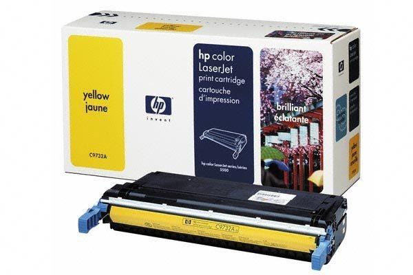 HP 645A original Toner gelb - C9732A