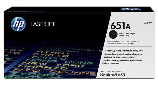 HP 651A original Toner schwarz - CE340A