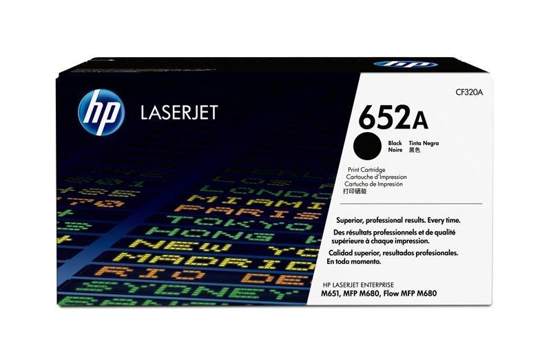 HP 652A original Toner schwarz - CF320A