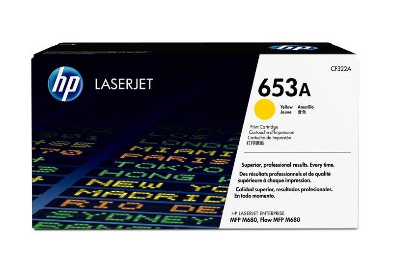 HP 653A original Toner gelb - CF322A