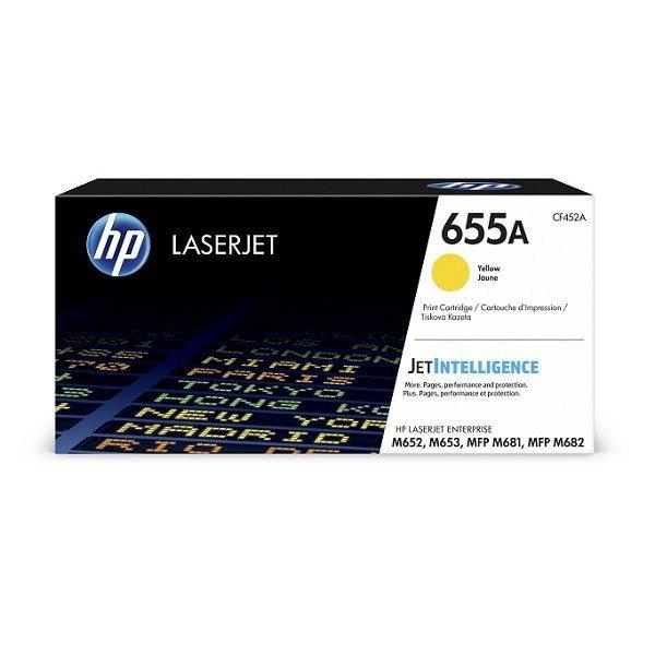 HP 655A original Toner gelb - CF452A