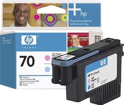 HP 70 magenta hell/cyan hell DesignJet Druckkopf - C9405A