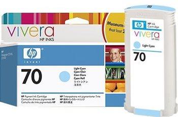 HP 70 original Tinte cyan - C9390A