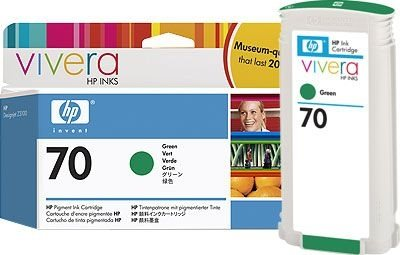 HP 70 original Tinte grün - C9457A