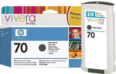 HP 70 original Tinte matt-schwarz - C9448A