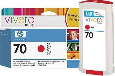 HP 70 original Tinte rot - C9456A