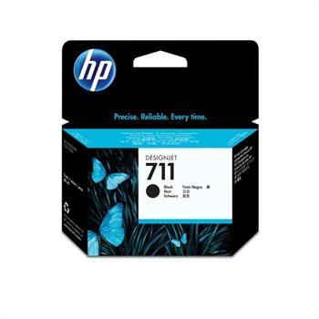 HP 711 original Tinte schwarz - CZ133A