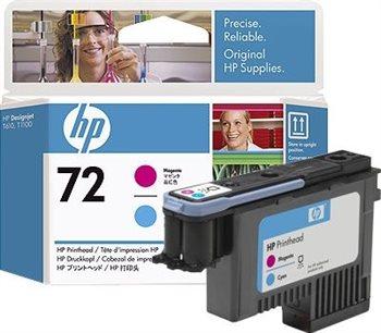 HP 72 magenta und cyan Druckkopf - C9383A