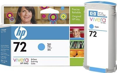 HP 72 original Tinte cyan - C9371A