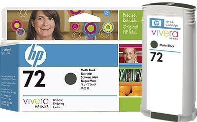 HP 72 original Tinte matt-schwarz - C9403A