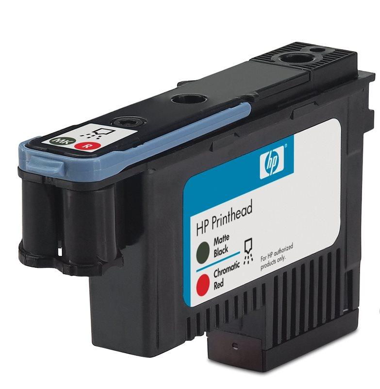 HP 73 Mattschwarz/Chromrot Designjet Druckkopf - CD949A