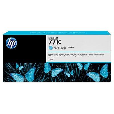 HP 771C original Tinte cyan - B6Y12A