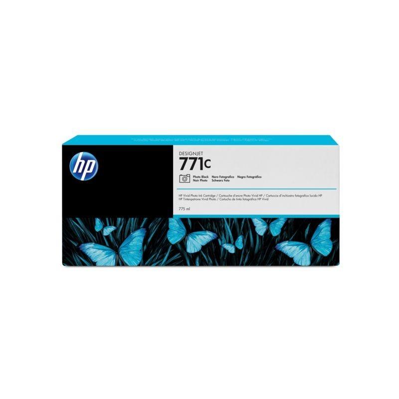 HP 771C original Tinte schwarz - B6Y13A