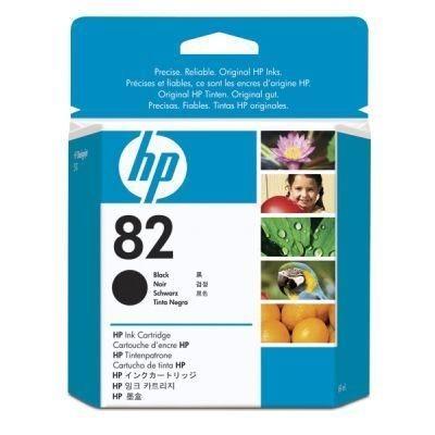 HP 82 original Tinte schwarz - CH565A