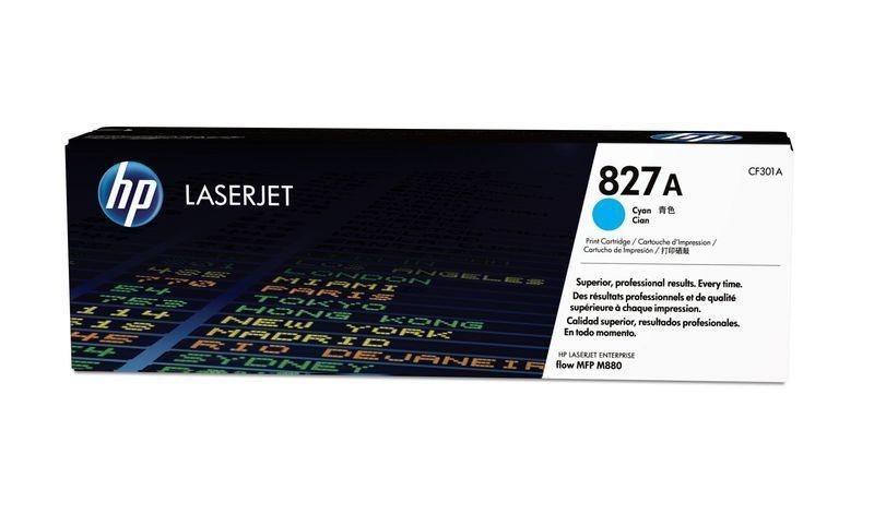 HP 827A original Toner cyan - CF301A