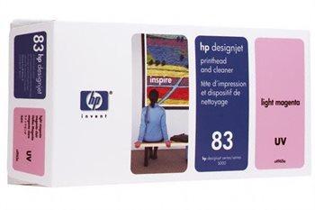 HP 83 magenta hell UV-Druckkopf und Druckkopfreiniger - C4965A