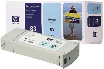 HP 83 original Tinte cyan - C4944A