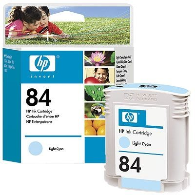 HP 84 original Tinte cyan - C5017A