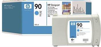 HP 90 original Tinte cyan - C5061A