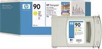 HP 90 original Tinte gelb - C5064A