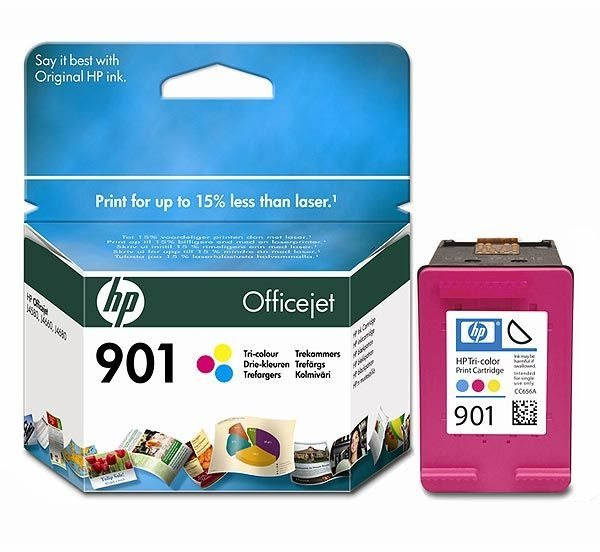 HP 901 original Tinte cyan, magenta, gelb - CC656AE