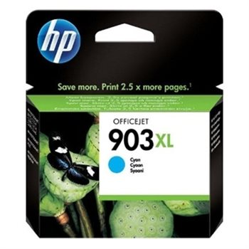 HP 903XL original HC Tinte cyan - T6M03AE