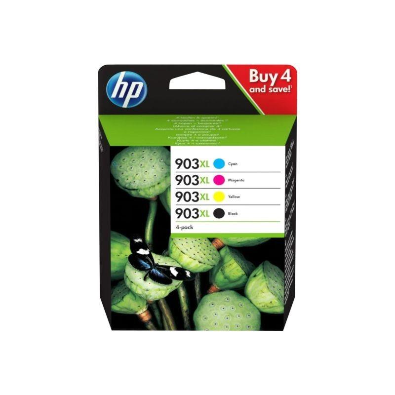 HP 903XL Original HC Tinten Multipack BKCMY - 3HZ51AE