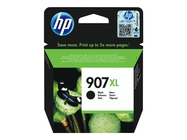 HP 907XL original HC Tinte schwarz - T6M19AE