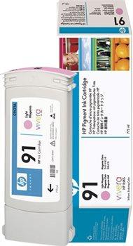 HP 91 original Tinte magenta - C9471A