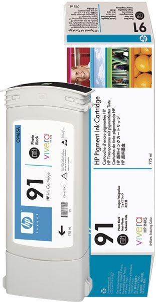 HP 91 original Tinte schwarz - C9465A