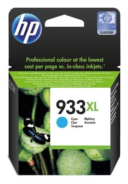 HP 933XL original HC Tinte cyan - CN054AE