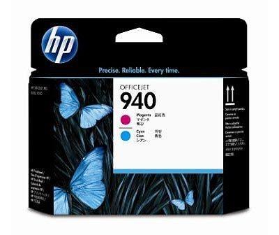 HP 940 magenta und cyan Original Druckkopf - C4901A